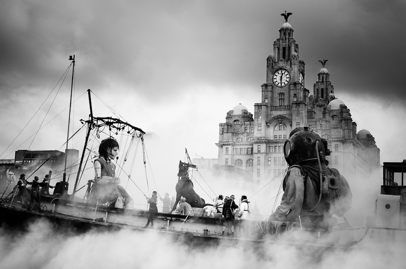 Day 3 of the Sea Odyssey in Liverpool.