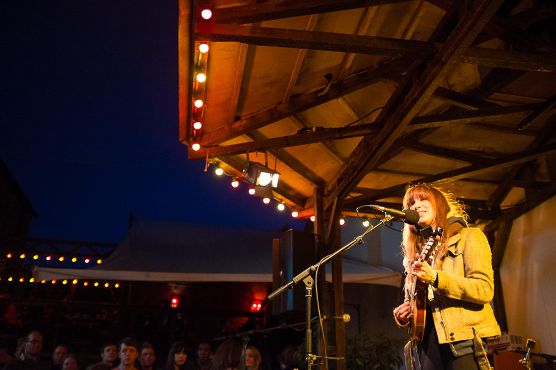 Laura J Martin in the Kazimier Gardens at Liverpool Sound City 2013